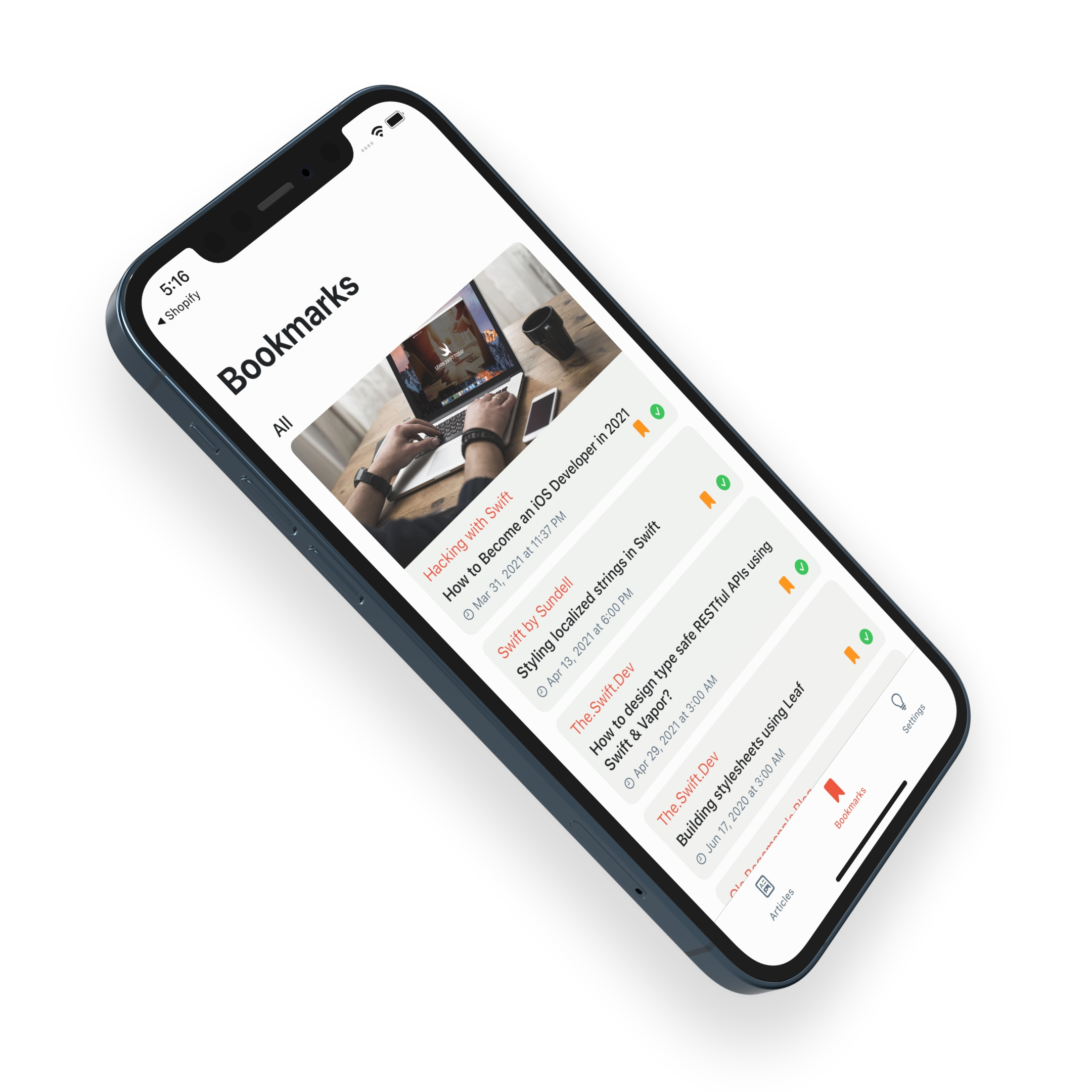 RSS Feed + iOS Design System Kit - 1